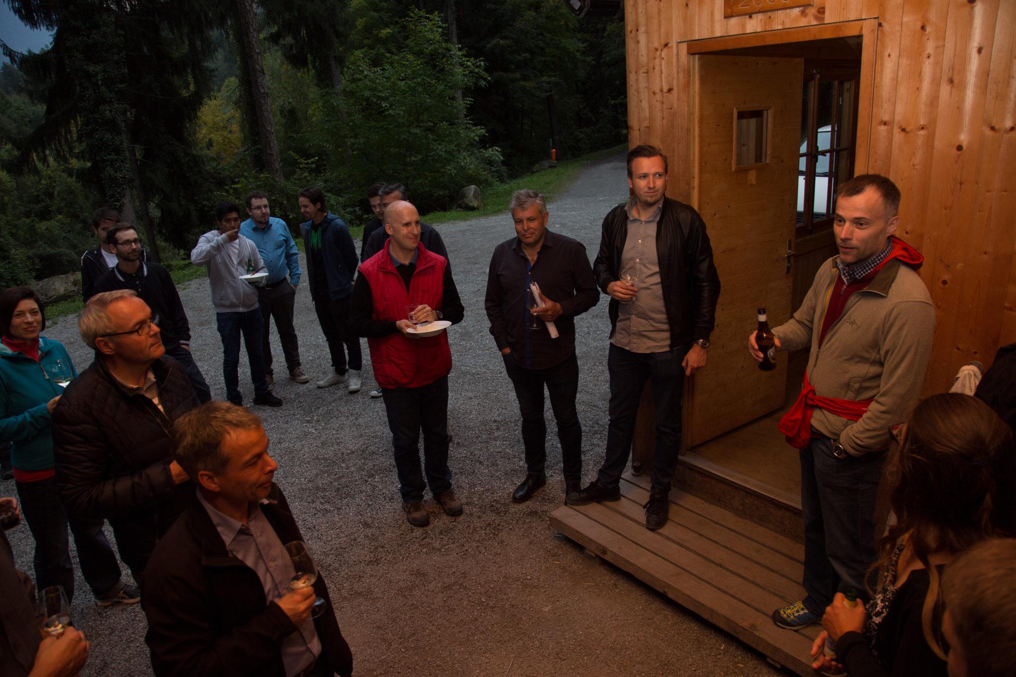 Apéro In Der Waldhütte