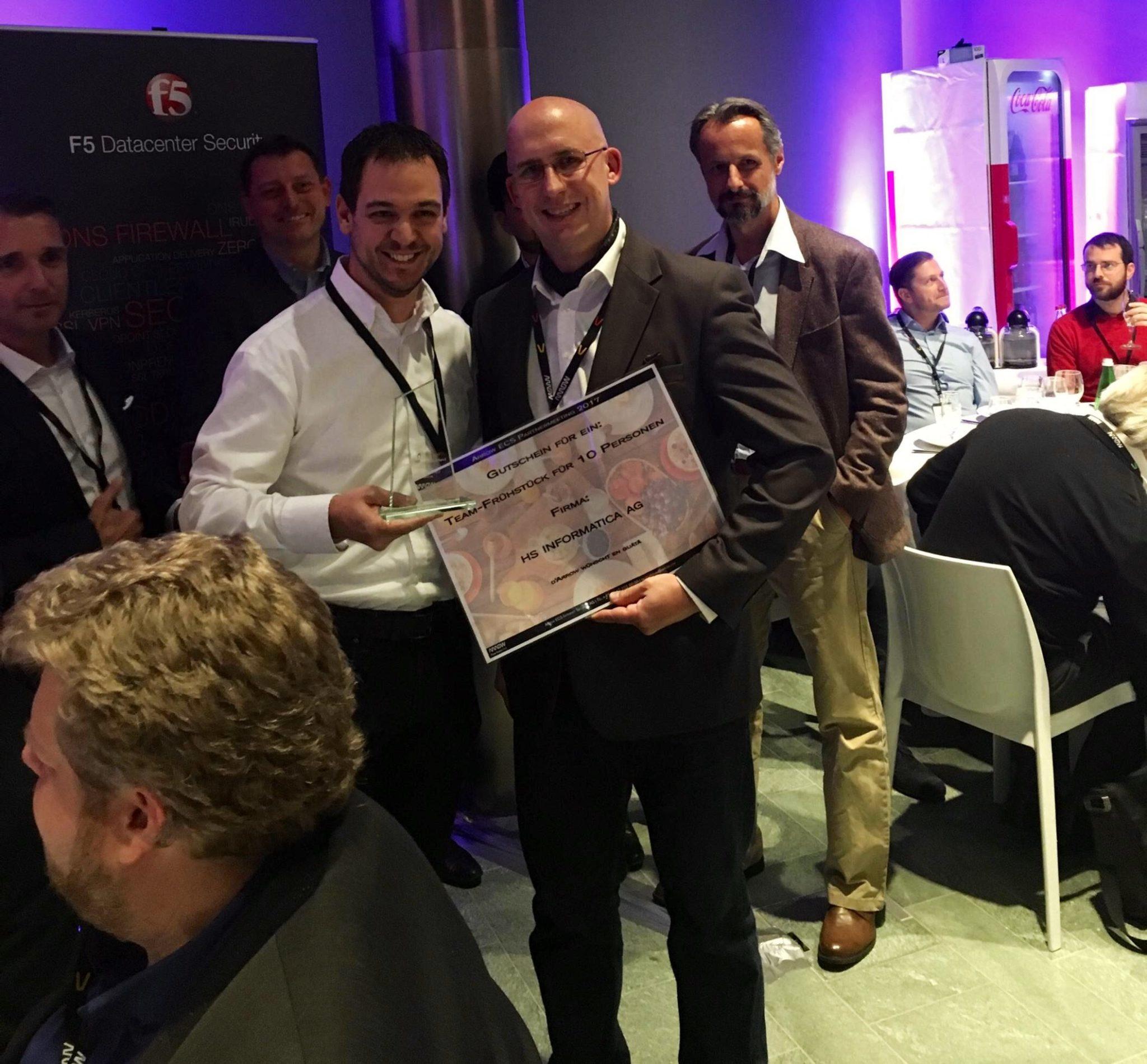 Fastest Growth 2017 – Informatica Erhält Award Von Arrow